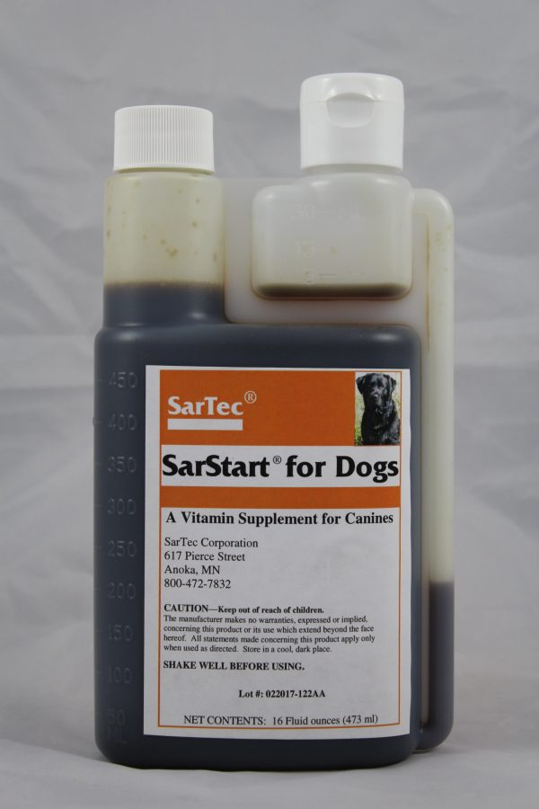 SarStart For Dogs