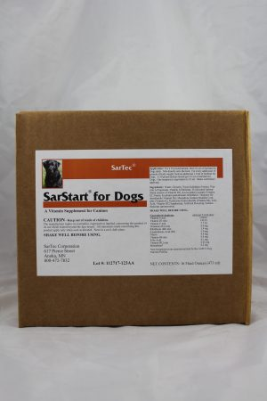 SarStart for Dogs Case
