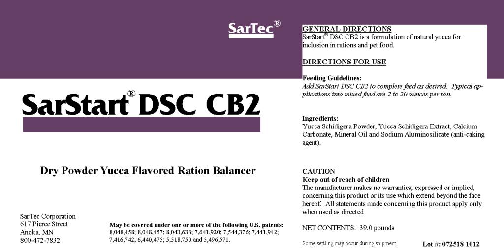 SarStart DSC CB2 Label